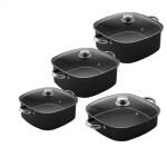 سرویس پخت پز 8 پارچه تک ظرف کد 444 TAK ZARF Set Pot 8 Pcs Code444
