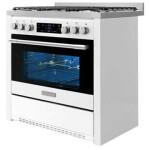 اجاق گاز مبله فر دار دوو مدل نیوایمپریال DGC5-2112 Furnace stove furnished by Daewoo New Imperial-DGC5-2112