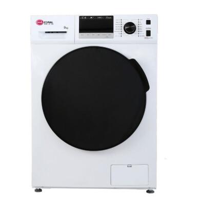 ماشین لباسشویی کرال مدل TFW 49413 ظرفیت 9 کیلوگرم Coral washing machine model TFW 49413, capacity 9 kg