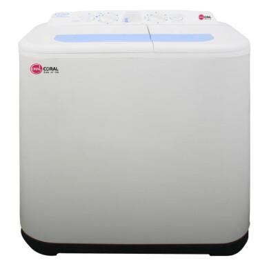 ماشین لباسشویی کرال مدل TTW-85514 ظرفیت 8.5 کیلوگرم Coral washing machine model TTW-85514 capacity 8.5 kg
