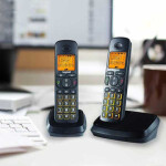 تلفن بی سیم گیگاست مدل A500 Duo Gigast A500 Duo cordless phone