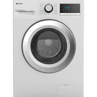 ماشین لباسشویی درب از جلو اسنوا مدل SWM-71200-7Kg SNOWA front door washing machine model SWM-71200-7Kg