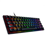کیبورد ریزر مدل  huntsman mini clicky purple switch razer keyboard  huntsman mini clicky purple switch