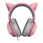 هدست ریزر مدل Kraken Kitty Quartz RAZER Headset KRAKEN KITTY QUARTZ EDITION