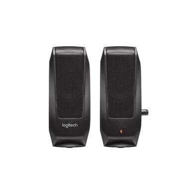 اسپیکر رومیزی لاجیتک مدل S120 speaker s120 analog black