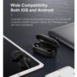 هندزفری بلوتوث دوگوش شیائومی هایلو Xiaomi Haylou GT3 TWS Bluetooth Earphones Xiaomi Haylou GT3 TWS Bluetooth Earphones