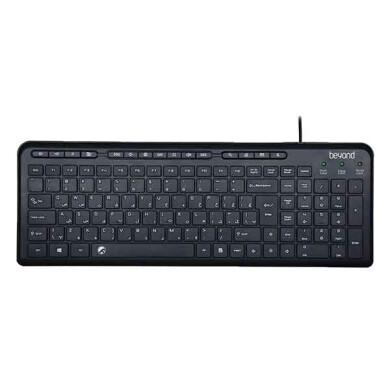 کیبورد بیاند مدل BK-3441 با حروف فارسی Beyond BK-3441 Keyboard With Persian Letters