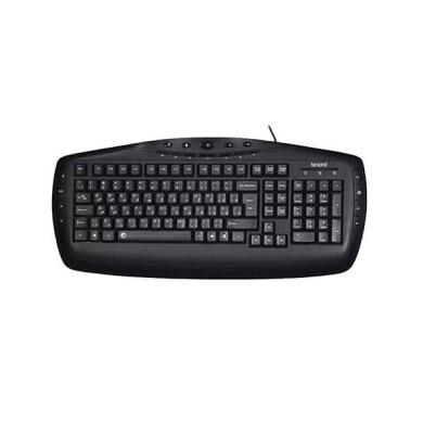 کیبورد بیاند مدل BK-6161 با حروف فارسی Beyond BK-6161 Keyboard With Persian Letters