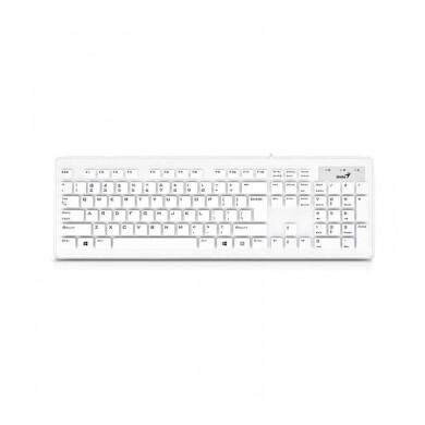 کیبورد باسیم جنیوس مدل Slim Star 130 با حروف فارسی Genius Slim Star 130 Wired Keyboard With Persian Letters