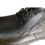 کفش مردانه چرم نوین تبریز مدل سیلور بندی کد 200S-104 New leather men shoes in Tabriz, silver model, code 200S-104