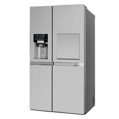 یخچال و فریزر سایدبایساید دوو  مدل D2S-1037SS Side-by-side refrigerator Doo model D2S-1037SS
