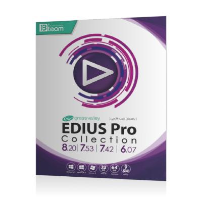 نرم افزار مجموعه Edius Pro 9 و Collection نشر جی بی Edius Pro 9 and Collection software published by GB