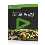 نرم افزار Edius 7.5 Edius Software 7. 5