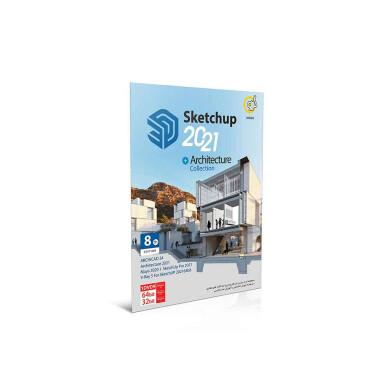 نرم افزار Sketchup 2021 + Architecture Collection 8th Edition Sketchup 2021 software + Architecture Collection 8th Edition