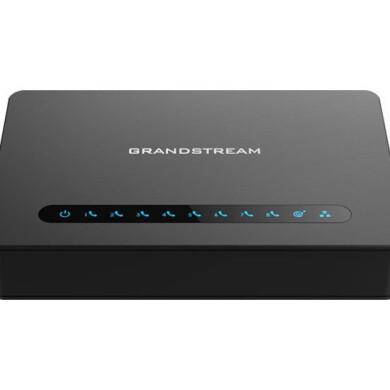 مبدل تلفن آی پی به آنالوگ (FXS) گرنداستریم Grandstream HT814 Grandstream HT814 IP to Analog (FXS) Telephone Converter