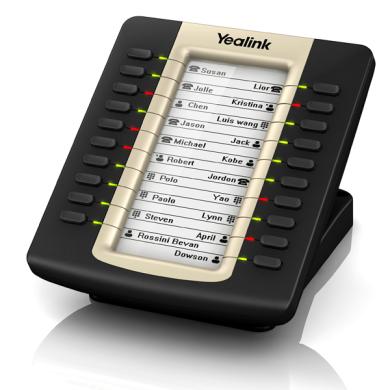 کنسول تلفن تحت شبکه یالینک Yealink EXP20 Yealink network console Yealink EXP20