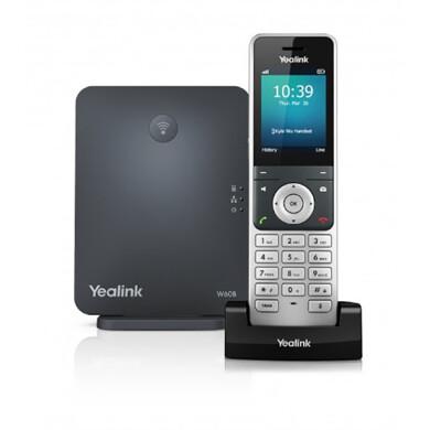 تلفن تحت شبکه بیسیم دکت یالینک مدل Yealink W60P Yealink W60P Duct Wireless Phone
