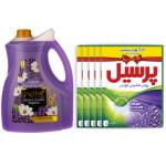 پک نظافت و شست و شو کد 105  بسته 6 عددی Cleaning and washing pack code 105, 6-digit package