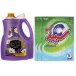پک نظافت و شست و شو کد 106  بسته 4 عددی Cleaning and washing pack code 106, 4-digit package