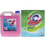 پک نظافت و شست و شو کد 108  بسته 4 عددی Cleaning and washing pack code 108, 4-digit package