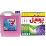 پک نظافت و شست و شو کد 110  بسته 6 عددی Cleaning and washing pack code 110, 6-digit package