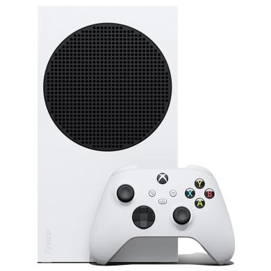کنسول بازی مایکروسافت مدل XBOX SERIES S ظرفیت 512 گیگابایت Microsoft XBOX SERIES S game console with a capacity of 512 GB