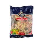 ماکارونی پروانه ای با سبزیجات زر ماکارون Butterfly pasta with macaroni vegetables