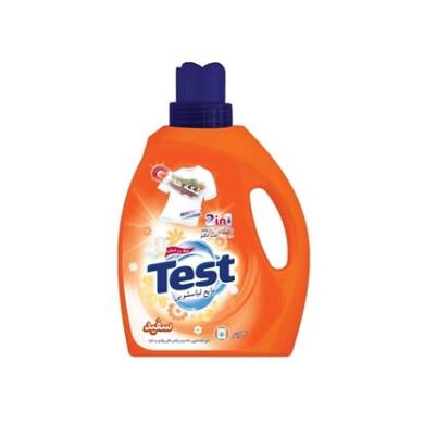 مایع لباسشویی مخصوص لباس های روشن و سفید تست Washing liquid for light and white clothes test