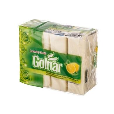 صابون رختشویی با رایحه لیمو گلنار Laundry soap with the scent of Golnar lemon