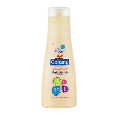 شامپو مولتی ویتامین پلاس پروتئین موهای معمولی و چرب گلرنگ Safflower Multi-Vitamin Plus Protein Shampoo for normal and oily hair