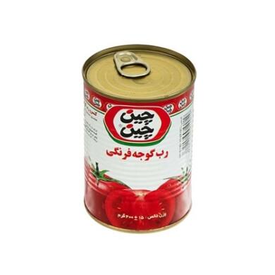 کنسرو رب گوجه فرنگی آسان باز شو چین چین Chin Chin Canned tomato paste easy to open