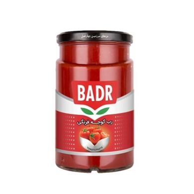 رب گوجه فرنگی شیشه ای بدر Badr Tomato Paste