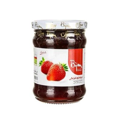 مربا توت فرنگی بیژن Bijan Strawberry jam