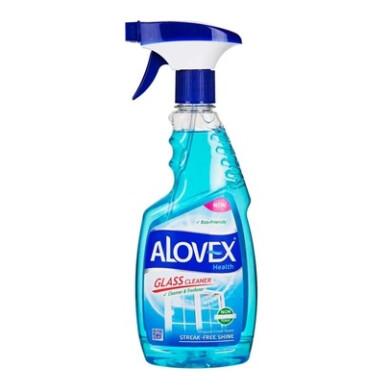 مایع شیشه پاک کن آبی آلوکس Blue glass cleaner liquid