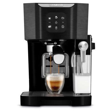 اسپرسو ساز سنکور مدل SES4040BK Sencor espresso machine model SES4040BK