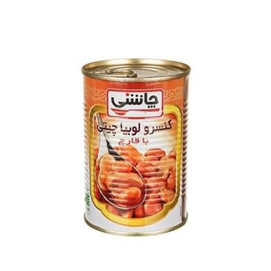کنسرو لوبیا چیتی با قارچ چاشنی Chashni Canned Pinto Beans With Mushroom