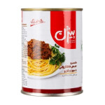 کنسرو سس ماکارونی با سویا و قارچ بیژن Bijan Canned Spaghetti & Lazagnia Sauce With Soy & Mushroom