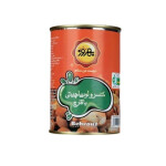 کنسرو لوبیا چیتی با قارچ بهروز Behrouz Canned Baked Pinto Beans With Mushroom