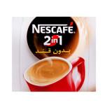 پودر قهوه و کافی میکس 2 در 1 بدون قند نسکافه نستله Nescafe 2 in 1 Coffee Mix Instant Without Sugar