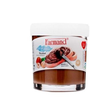 کرم کاکائو فندقی و شکلات صبحانه فرمند Farmand Hazelnut Cocoa Cream