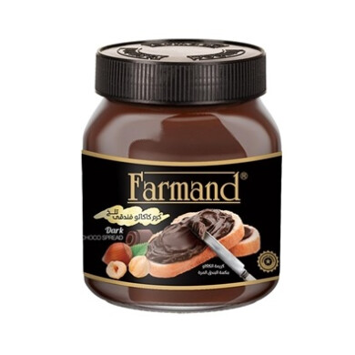 شکلات صبحانه کرم کاکائو فندقی تلخ فرمند Farmand - Chocolate Bitter Hazelnut Cocoa Cream Breakfast Chocolate