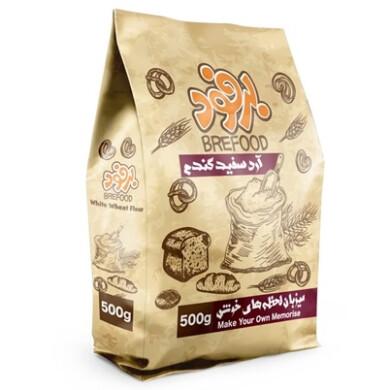 آرد سفید گندم برفود Brefood White wheat flour