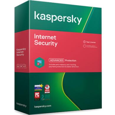 لایسنس کسپرسکی اینترنت سکیوریتی - دو کاربره Kaspersky Internet Security 2devices License