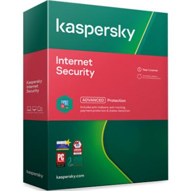 لایسنس کسپرسکی اینترنت سکیوریتی چهار کاربره Kaspersky Internet Security 4devices License