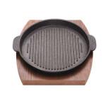 تابه فاهیتا تکی+ زیره چوبی سایز 20 Fahita single pan + wooden cumin size 20