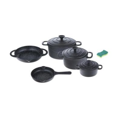 سرویس پخت و پز 8 پارچه نالینو مدل Tekla Nalino Tekla Cookware Set 8 Pcs