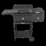 باربیکیو 7 شعله به همراه پلوپز barbecue with 7 burner and rice cooker