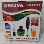 گوشت کوب برقی نوا مدل NHB-106FP3 Nova electric meat grinder model NHB-106FP3