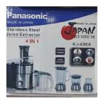 آبمیوه گیری 4 کاره پاناسونیک مدل KJ-8900 Panasonic 4-function juicer model KJ-8900