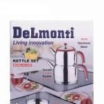 کتری قوری روهم استیل دلمونتی مدل DL 1425 Delmonte steel kettle model DL 1425
